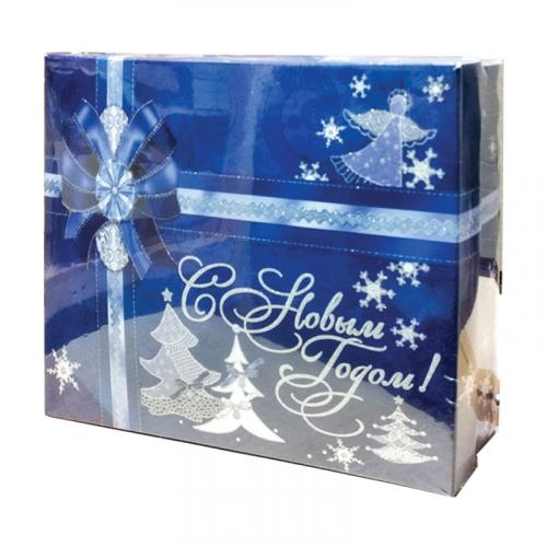 Ассорти желе С Новым Годом синяя коробка 800 г