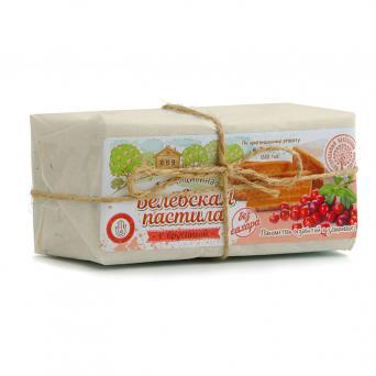 Белевская пастила с бруникой без сахара 200 г