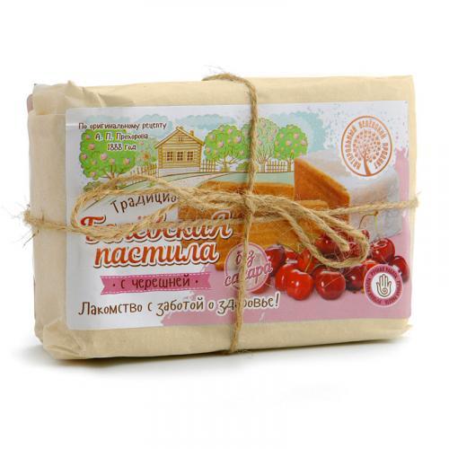 Белевская пастила с черешней без сахара 350 г