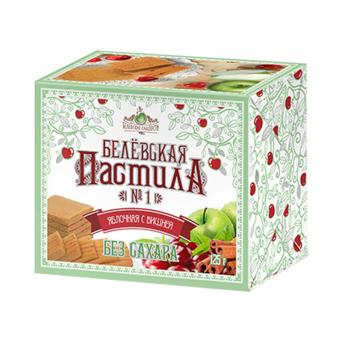 Белевская пастила яблочная с вишней без сахара 125 г