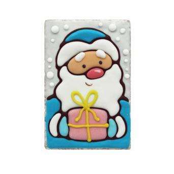 Дед мороз с подарком 130 г