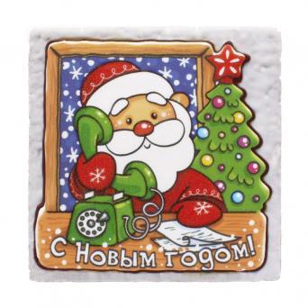 Дед Мороз с телефоном 700 г