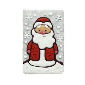 Дед мороз в снежинках 130 г
