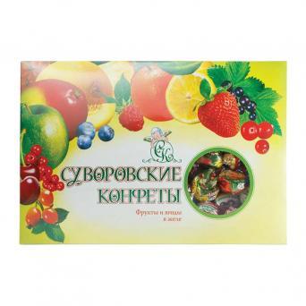 Фрукты и ягоды в желе 500 г