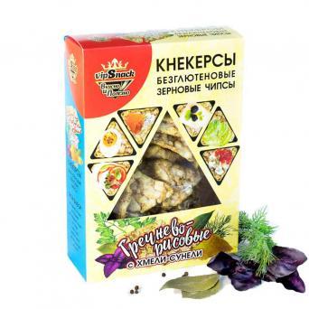 Кнекерсы Гречнево-рисовые с хмели-сунели 55 г