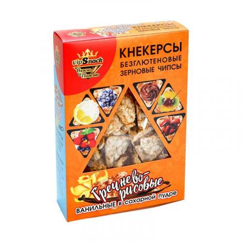 Кнекерсы Гречнево-рисовые с ванилью 55 г