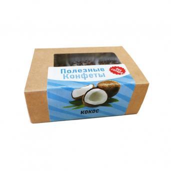 Конфеты без сахара Кокос-кунжут 100 г