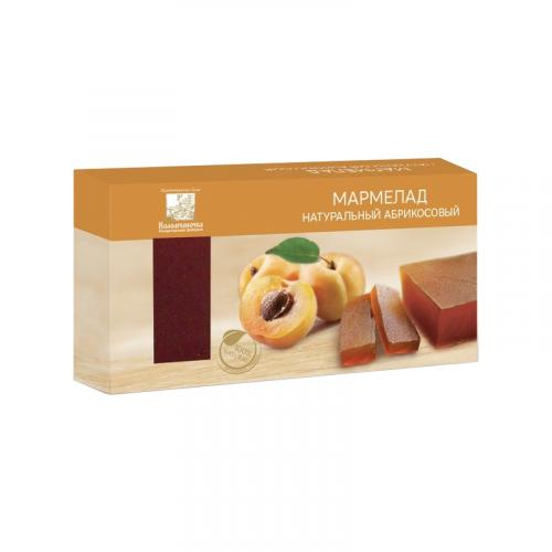 Мармелад натуральный абрикосовый 210 г