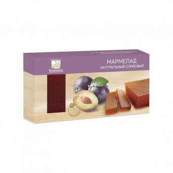 Мармелад натуральный сливовый 210 г