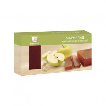 Мармелад натуральный яблочный 210 г