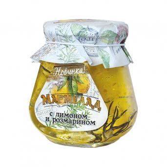 Мармелад в банке с Лимоном и розмарином 300 г