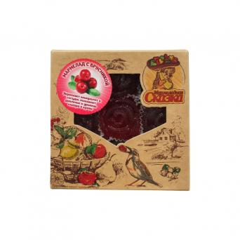 Мармелад желейный с брусникой 300 г