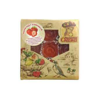 Мармелад желейный с клубникой 300 г