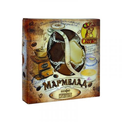 Мармелад желейный с Кофе и сгущенным молоком 200 г