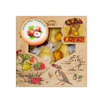 Мармелад желейный с орехом фундук 200 г
