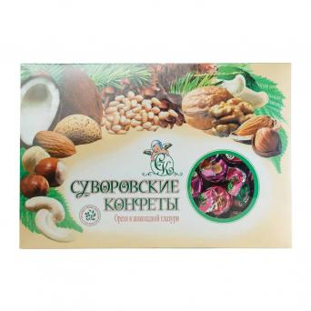 Орехи в шокладной глазури 500 г