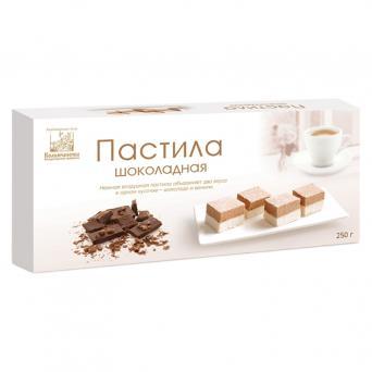 Пастила коломчаночка шоколадная 250 г