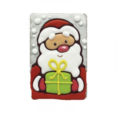 Покровский пряник Дед мороз с подарком 130 г