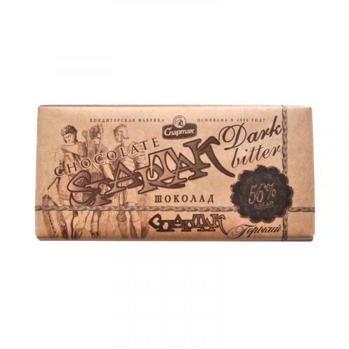 Шоколад Спартак горький 56% 90 г