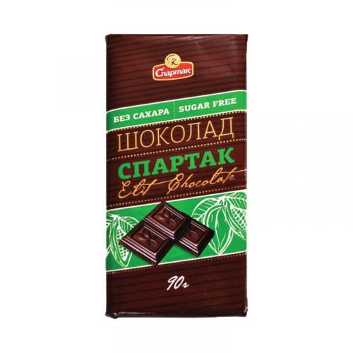Шоколад Спартак горький без сахара 90 г