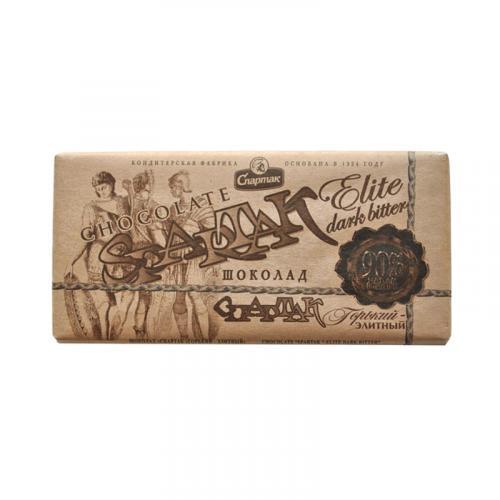 Шоколад Спартак горький-элитный 90% 90 г
