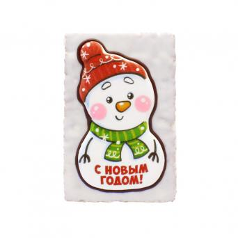 Снеговик С Новым годом 130 г