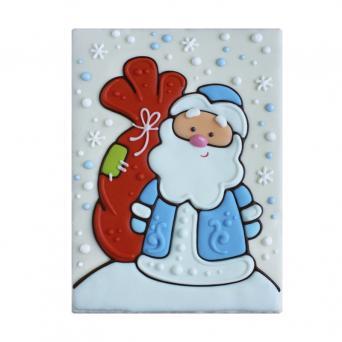 Тортик Дед мороз с мешком подарков 700 г