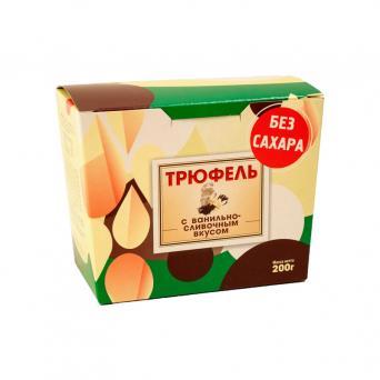Трюфель без сахара с ванильно-сливочным вкусом 200 г