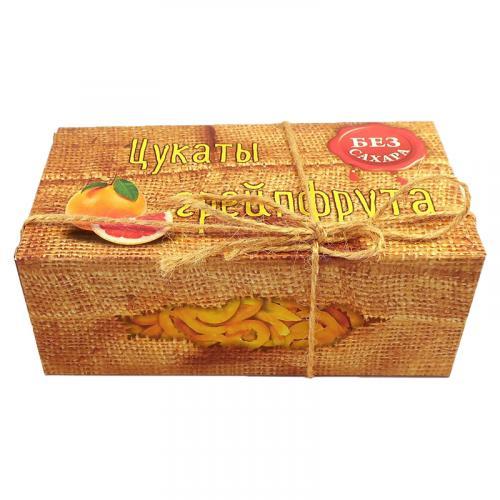 Цукаты грейпфрута без сахара 200 г
