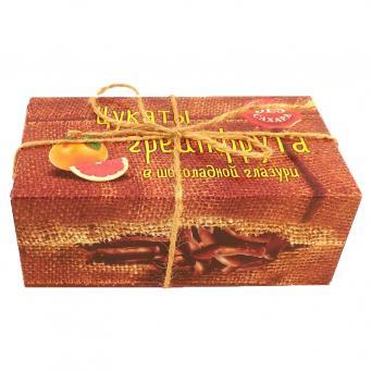 Цукаты грейпфрута шоколадной глазури без сахара 200 г