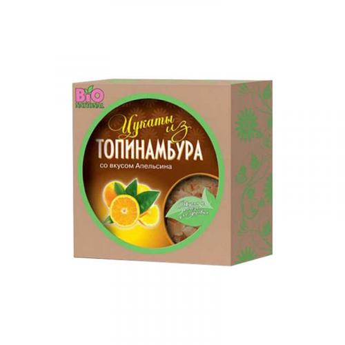 Цукаты из топинамбура Апельсин 100 г